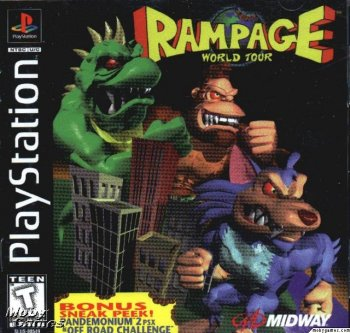 [PS] Rampage: World tour (1997)