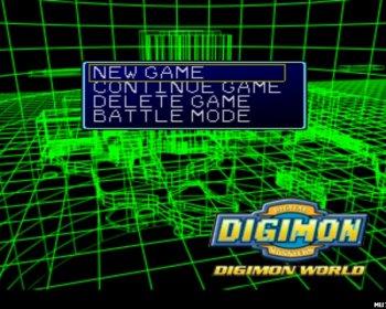 [PS] Digimon World 1,2,3