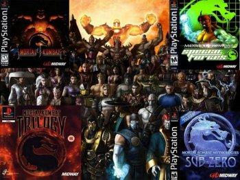 [PS] Mortal Combat Antology (1999)