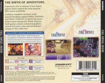 [PS] Final Fantasy Origins (2003)