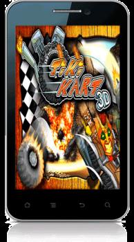 [Android] Tiki Kart 3D (1.4) Arcade / Racing / 3D, ENG] (2011)