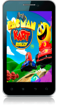 [Android] Pac-Man Kart Rally (1.0) [Arcade / Racing / 3D, ENG] (2011)