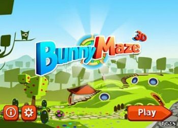 [Android] Bunny Maze 3D (1.0.3) [2012, Аркада, ENG] R.G.Mobi