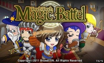 [Android] Touch Touch Magic Battle (1.0) [Тактическая стратегия / Аркада, ENG] (2012)