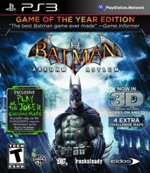 Batman: Arkham Asylum GOTY (2010) [EUR][RUS][P]