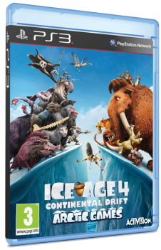 Ice Age 4: Continental Drift - Arctic Games (2012) [EUR][ENG][L] [3.55][4.11]
