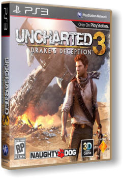 Uncharted 3: Иллюзии Дрейка / Uncharted 3: Drake's Deception (2011) [FULLRip][RUS][RUSSOUND][L]
