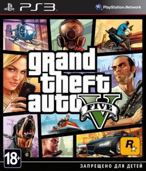 Grand Theft Auto 5 (2013) [EUR][RUS][L] [Cobra ODE/E3 ODE PRO/CFW+Cobra mode]