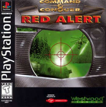 Command & Conquer: Red Alert [2CD] (1996) [SLUS-00431/00485] [Русские версии / Kudos] [Full RUS]