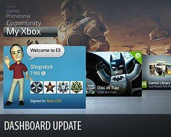 [XBOX360] XBOX360 NXE DashBoard [2008, DashBoard]