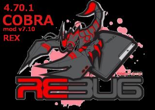 Прошивка REBUG 4.70.1 REX Cobra 7.10 (2015) [Ru][Eng] [Multi]