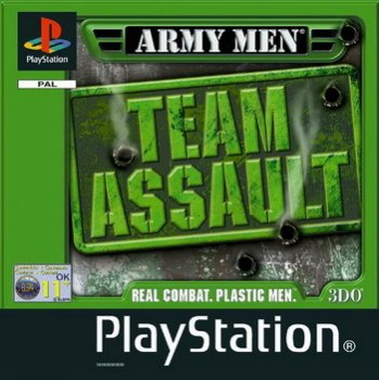 [PSX-PSP] Army Men: Team Assault [ENG][1999, 3D Action]