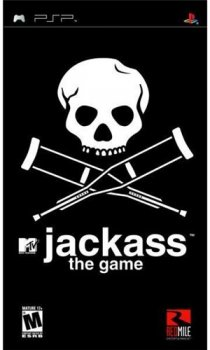 [PSP] Jackass: The Game [RUS] [2008, Arcade / 3D / 3rd Person]