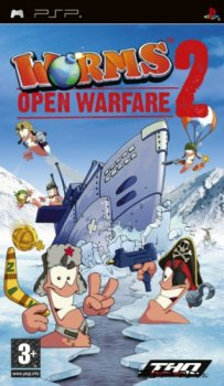 [PSP] Worms: Оpen warfare 2 [2005, Strategy]