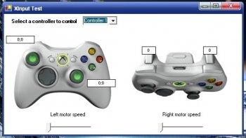 XBOX 360 Controller emulator v1.1