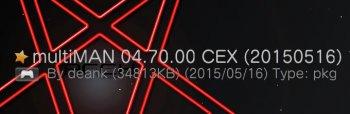 НОВЫЕ ВЕРСИИ multiMAN v04.70.00 CEX и webMAN v1.42 (2015) [RUS][ENG][Multi]