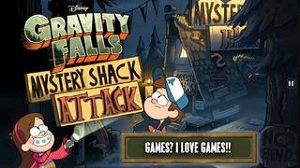 Gravity Falls Mystery Shack Attack 1.1.0 / [2014, Аркада]