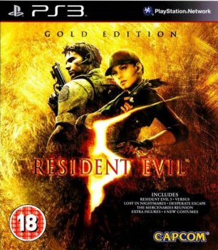 Resident Evil 5: Gold Edition (2010) [Rip][RUS][RUSSOUND][P] [3.55+]