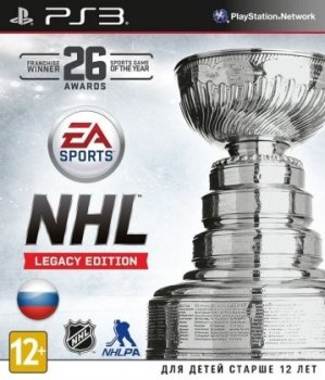 NHL Legacy Edition (2015) [RUS][P][Cobra ODE / E3 ODE PRO ISO]