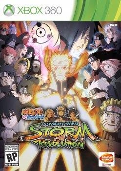 Naruto Shippuden: Ultimate Ninja Storm - Revolution (2014) [PAL][RUS][L] (XGD3) (LT+ 3.0)