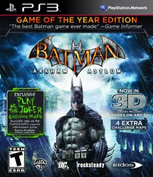 Batman: Arkham Asylum - Game of the Year Edition (2009) [FULL][ENG][L]