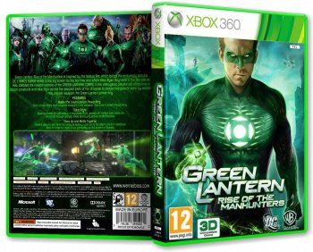 Green Lantern: Rise of The Manhunters (2011) [PAL][RUS][P]