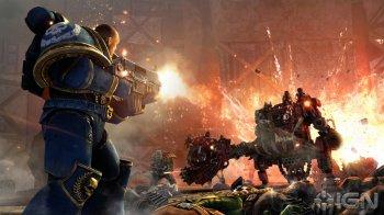 Warhammer 40000: Space Marine (2011) [RUS] [RUSSOUND] [Kmeaw 3.55] [RePack]