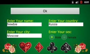 Poker / Покер - 1.0S (2016) [Карточная игра, 800x480 или лучший, RUS + ENG]