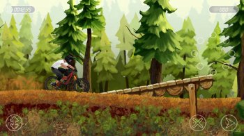 [Android] Bike Mayhem Mountain Racing 1.3.6 [Platformers, VGA/QVGA, ENG]