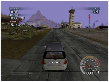 [PS2] Mercedes-Benz World Racing [RUS|PAL]