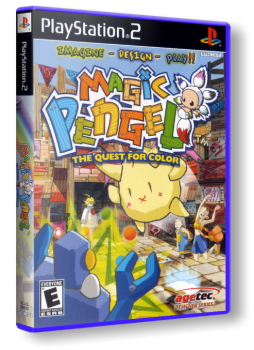 [PS2] Magic Pengel: The Quest for Color [ENG|NTSC]