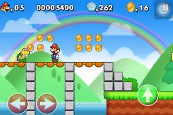 [SD] Super Mario Mod (Edit Lep's World Plus) [v1.1.2, Платформер, iOS 3.0, ENG]