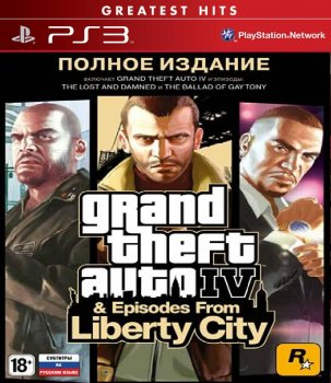[PS3] Grand Theft Auto IV: Complete Edition / Grand Theft Auto IV: Полное издание [EUR/RUS]