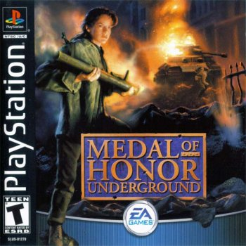 [PS] Medal Of Honor: Underground [SLUS-01270] [Full RUS]