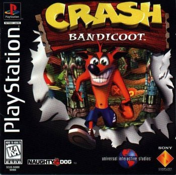 [PS] Crash Bandicoot [SCUS-94900][ENG]