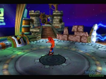 [PS] Crash Bandicoot 3 - Warped [SCUS-94244][FireCross][Full RUS]