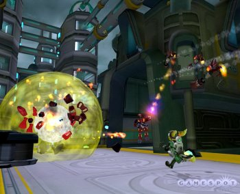 [PS2] Ratchet & Clank: Going Commando (2: Locked and Loaded) [RUS|NTSC]
