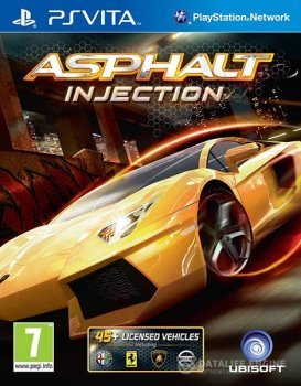 Скачать торрент Asphalt Injection PS Vita(1.06)