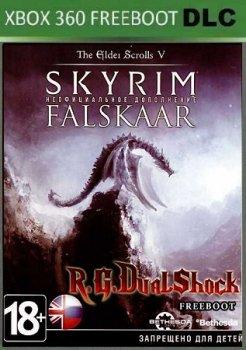 Skyrim Legendary Edition + Falskaar Xbox360 DLC