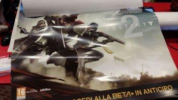 В сеть утекло изображения постера Destiny 2 на котором изображена дата выхода