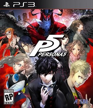 Persona 5 + ALL DLC (ENG) PS3