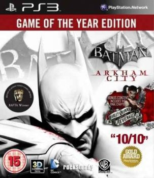 торрент Batman: Arkham City GOTY PS3 Cobra ODE