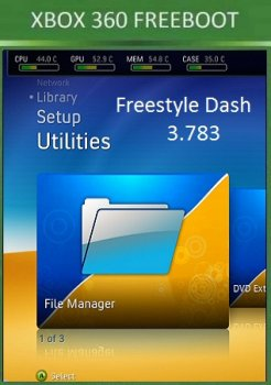 Freestyle Dash 3.783 Xbox360