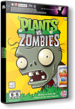 Plants vs Zombies: Game Of The Year (2010) MAC