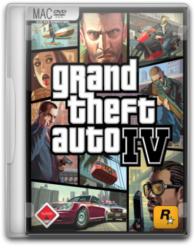 Скачать (GTA) Grand Theft Auto 4 (2008) [RUS][ENG] [Cider] торрент