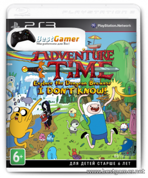 [PS3] Adventure Time: Explore the Dungeon Because I DON'T KNOW! [ENG] [Repack] [1xDVD5]