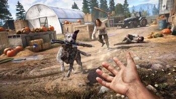Собака-компаньон в Far Cry 5 бессмертна