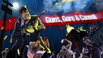 Мультяшный двухмерный боевик Guns, Gore & Cannoli заглянет на Switch