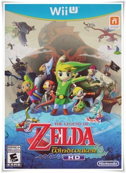 The Legend of Zelda: The Wind Waker HD (2013/NTSC/ENG) | Wii U