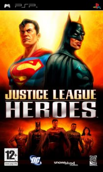 Justice League Heroes (2006/FULL/CSO/RUS) / PSP